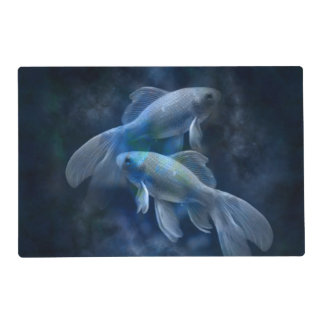 Blue Fish Placemat