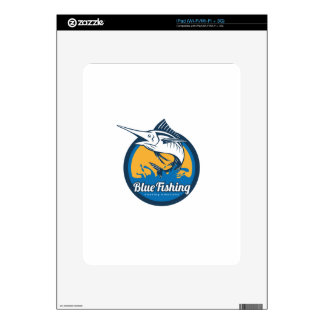 Blue Fishing Shop iPad Skins