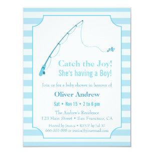 Fishing Baby Shower Invitations Zazzle
