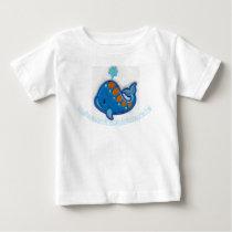"""Blue Fishy"" Baby T-Shirt"