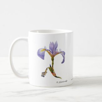 Blue Flag Iris 11 oz. Mug