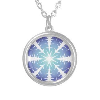 Blue Flake VII Necklace