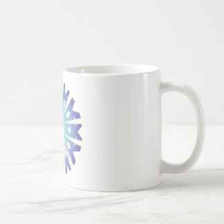 Blue Flake VIII Coffee Mug