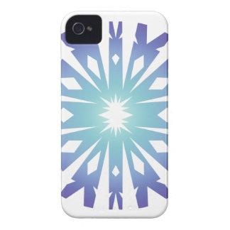 Blue Flake VIII iPhone 4 Case-Mate Case