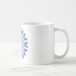 Blue Flake VIII Coffee Mug