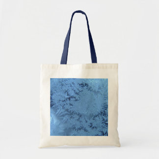 Blue Flakes Budget Tote Bag