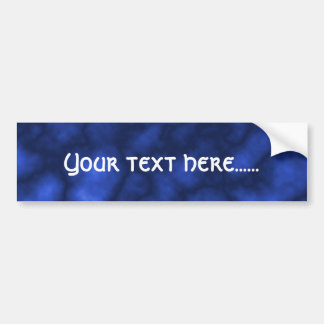 Blue Flame Bumper Sticker