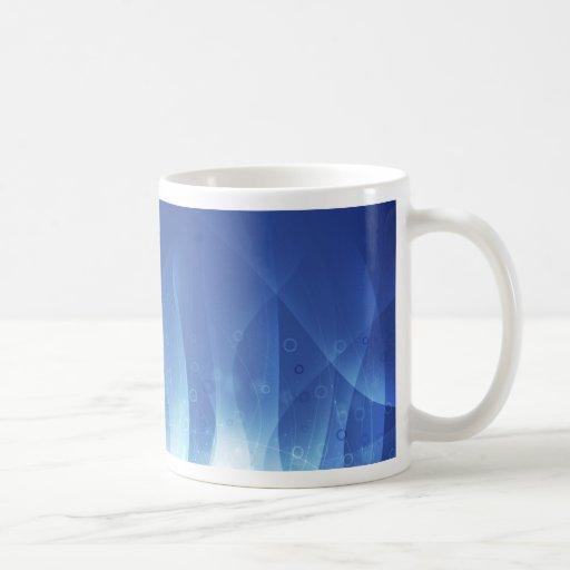 Blue Flame Classic White Coffee Mug