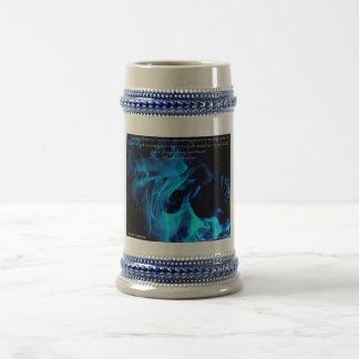Blue flame PKU Mug