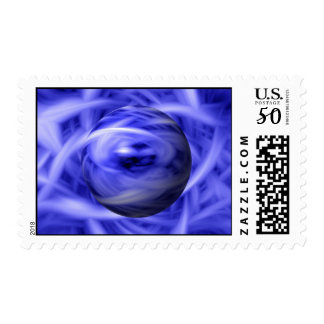 Blue Flame Postage