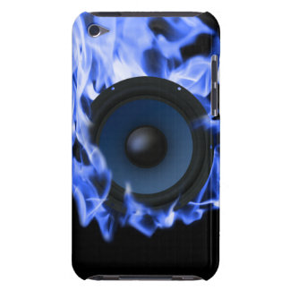 blue flame Subwoofer Case iPod Touch Covers
