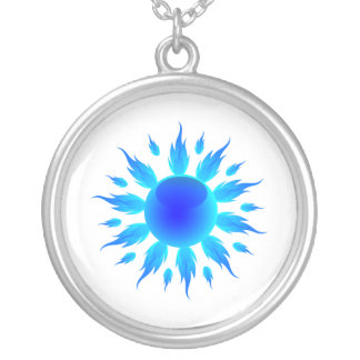 blue flame sun graphic.png silver plated necklace