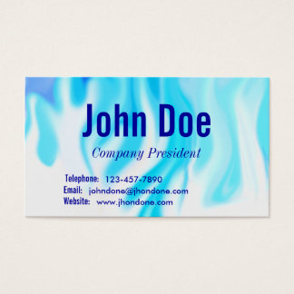 Blue Flames Business Card