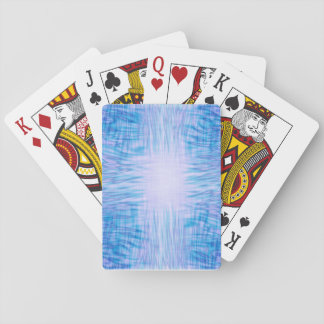 Blue Flames Playing Cards