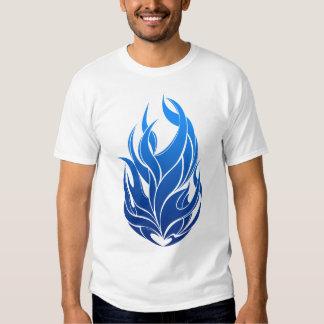 blue flames T-Shirt