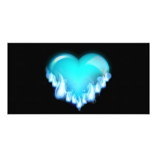 Blue-flaming-heart.png love icecold icy tough card
