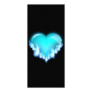 Blue-flaming-heart png love icecold icy tough rack card