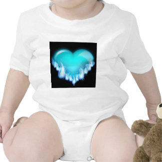 Blue-flaming-heart png love icecold icy tough shirts