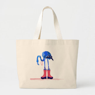 Blue Flamingo Bag