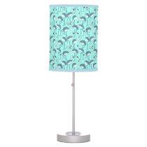 Blue Flamingo Table Lamp