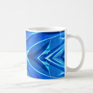 Blue Flare Fins Coffee Mug
