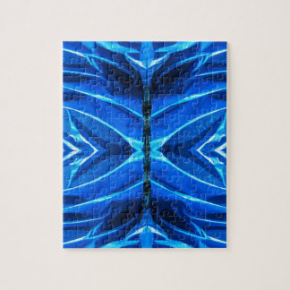 Blue Flare Fins Jigsaw Puzzle