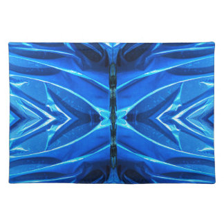Blue Flare Fins Cloth Placemat