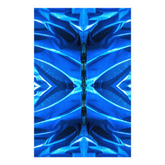 Blue Flare Fins Stationery