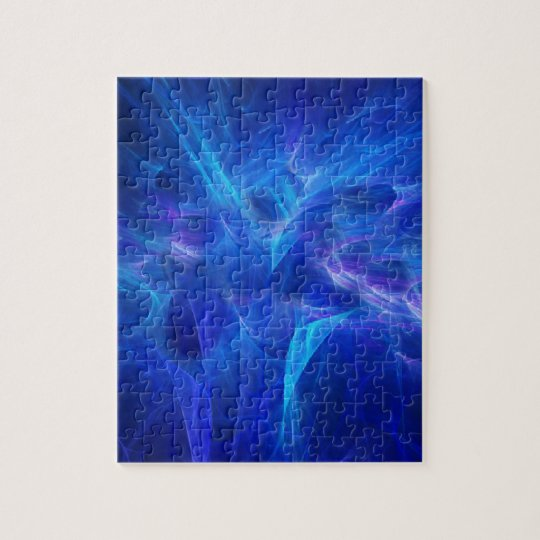 Blue Flash Puzzle