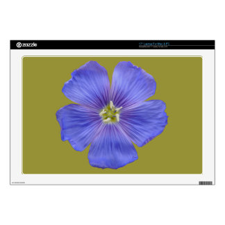 Blue Flax #1 Decal For Laptop
