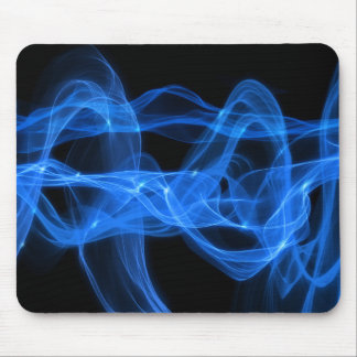 Blue Fleming Mouse Pad
