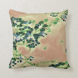 """Blue Floaters"" JTG Art Pillow"