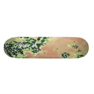 """Blue Floaters"" JTG Art Skateboard"