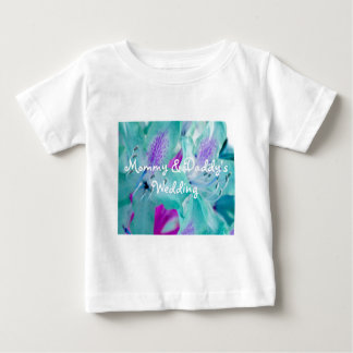 Blue Floral Baby T-Shirt