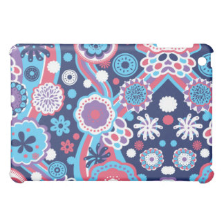 Blue Floral iPad Case