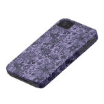 Blue Floral iPhone 4/4S Case Mate Case iPhone 4 Case