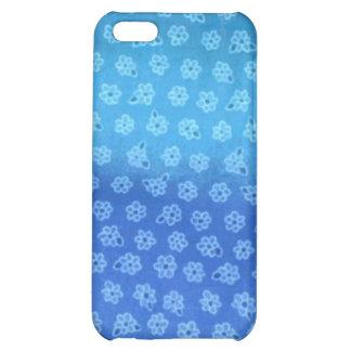 Blue Floral iphone Case iPhone 5C Case