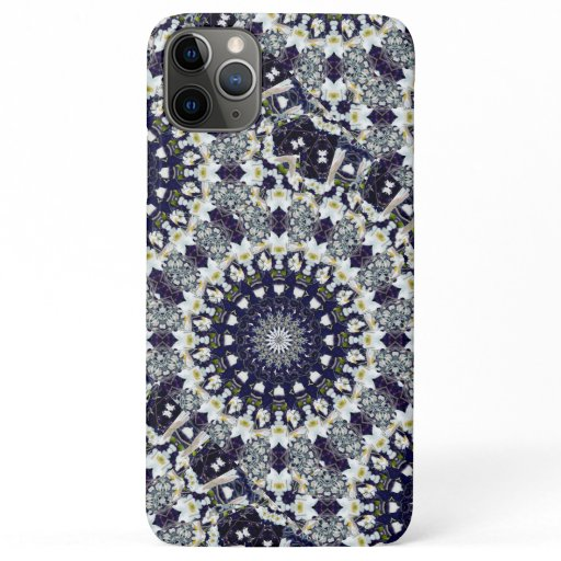 Blue Floral Mandala CaseMate Phone Case