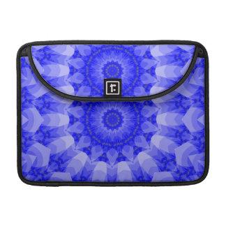 Blue Floral Mandala Sleeve For MacBook Pro