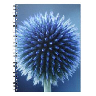 Blue - Floral Notebook