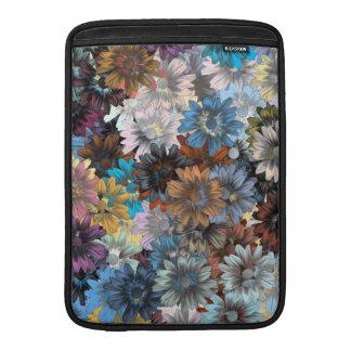 Blue floral patten MacBook air sleeve