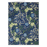 Blue Floral Pattern Card