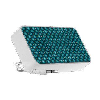 Blue Floral Pattern PC Speakers