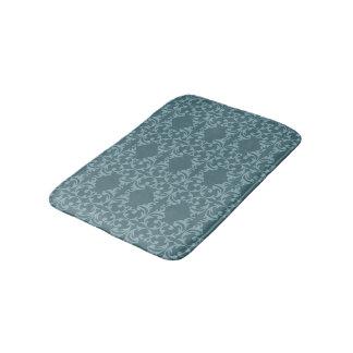 Blue Florish Bath Mat
