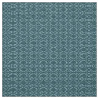 Blue Florish Fabric