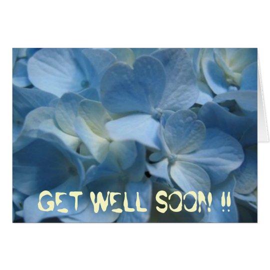 blue-flower-420[1], GET WELL SOON !! Card