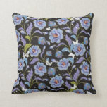 Blue Flower American MoJo Pillow
