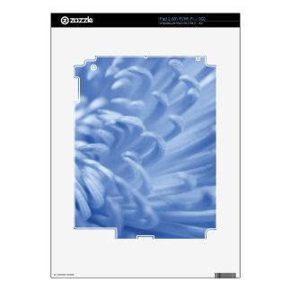 Blue flower Close Up iPad 2 Skin