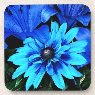 Blue Flower Coaster
