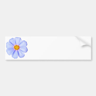 Blue Flower - Customized Cosmos Daisies Template Car Bumper Sticker